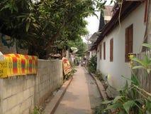 Город Luang Prabang. стоковые изображения rf