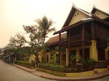 Город Luang Prabang. стоковое изображение