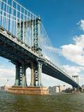 город manhattan New York моста Стоковые Изображения RF