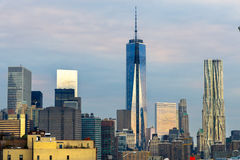 город manhattan New York США Стоковые Изображения