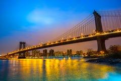 город manhattan New York США Стоковое фото RF