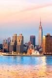 город manhattan New York США Стоковая Фотография RF