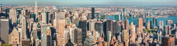 город manhattan New York Стоковые Изображения RF
