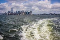 город manhattan New York Стоковая Фотография