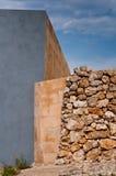 Город Mdina Мальты исторический Стоковая Фотография