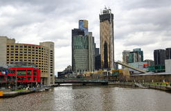 город melbourne Австралии Стоковая Фотография