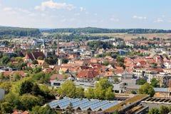 Город Metzingen покупок выхода Стоковые Изображения