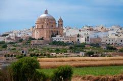 Город Mgarr Мальты исторический Стоковое фото RF
