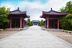 Город Mianyang, родной город Li Bai Стоковые Изображения RF
