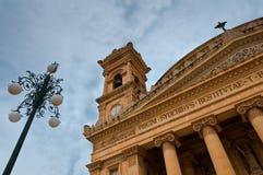 Город Mosta Мальты исторический Стоковая Фотография