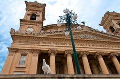 Город Mosta Мальты исторический Стоковая Фотография RF