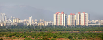 Город Mulund в Индии Стоковая Фотография RF