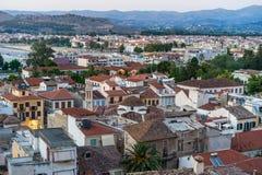 Город Nafplio Стоковое Изображение RF