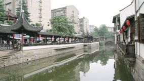 Город Nanshan в Китае сток-видео