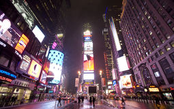 город New York broadway Стоковое Изображение