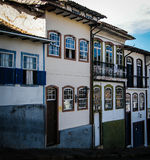 Город Ouro Preto (черного золота), положения мин Gerais Стоковое фото RF