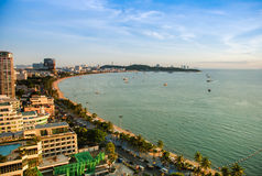 город pattaya Таиланд Стоковые Фотографии RF