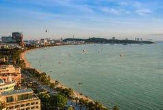 город pattaya Таиланд Стоковая Фотография RF