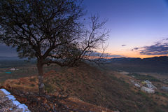 Город Puskhar на восходе солнца Стоковое Фото