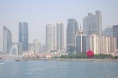 Город Qingdao Китая стоковая фотография rf
