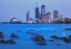 Город Qingdao стоковая фотография rf
