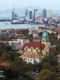Город Qingdao стоковые фотографии rf