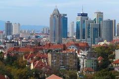 Город Qingdao стоковая фотография