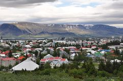 Город Reykjavik Стоковые Фото