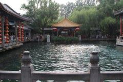 Город ` s Jinan Китая, провинция Шаньдуна, парк весны baotu Стоковые Изображения RF