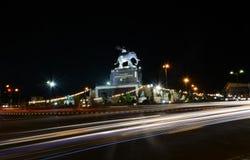 Город Scape в Buriram Таиланде стоковые фото