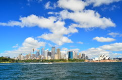 Город Scape Сиднея Стоковое Изображение RF