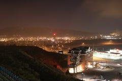 Город Scape Pocatello Стоковые Изображения RF