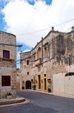Город Siggiewi Мальты исторический Стоковые Изображения