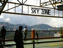 Город Skyzone Baguio Стоковая Фотография RF