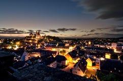 Город Stadt Rhein Breisach am Rhein ландшафта ¼ Frà весны Deutschland nster ¼ Германии Mà hling Стоковые Изображения RF