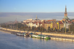 Город Szczecin (Stettin). Стоковые Фотографии RF