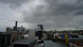 Город Timelapse Брисбена сток-видео