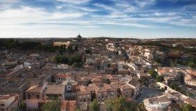 Город Toledo, Испании Стоковые Изображения RF