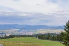 Город Toplita Стоковые Фотографии RF