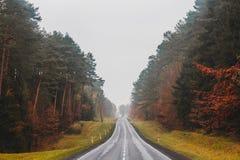 Город Tuczno в Польше Стоковое Изображение