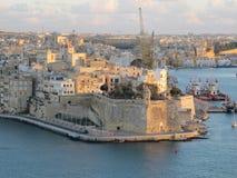 Город Valleta Стоковые Изображения