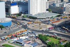 город warsaw Стоковое Фото