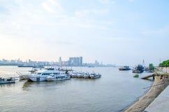 Город Wuhan, Китая стоковая фотография rf