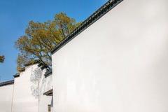 Город Wujiang в такой же стене городка Стоковые Изображения RF