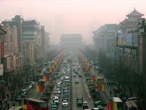 город xian Стоковое Изображение