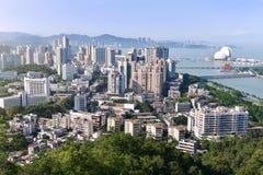 Город Zhuhai или жемчуга также одно из назначений туриста премьер-министра ` s Китая Стоковые Изображения RF