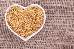Горчичное зерно стоковые изображения rf