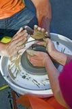 горшечники Стоковая Фотография RF