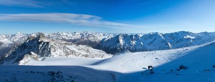 Горы Австрии Стоковые Фотографии RF