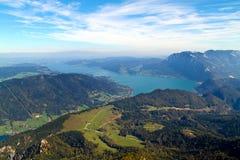 горы австрийцев стоковые фотографии rf